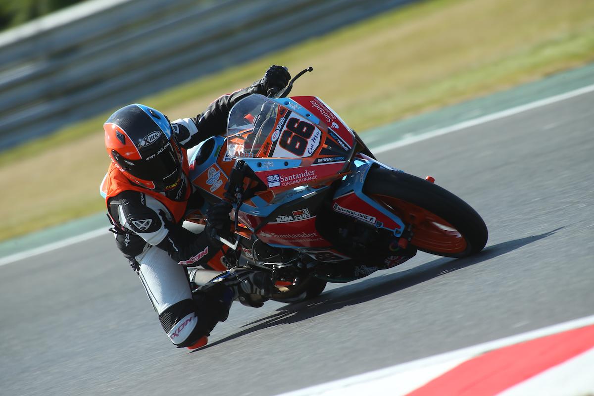 Abbz Races Ahead At Santander Consumer Finance KTM British