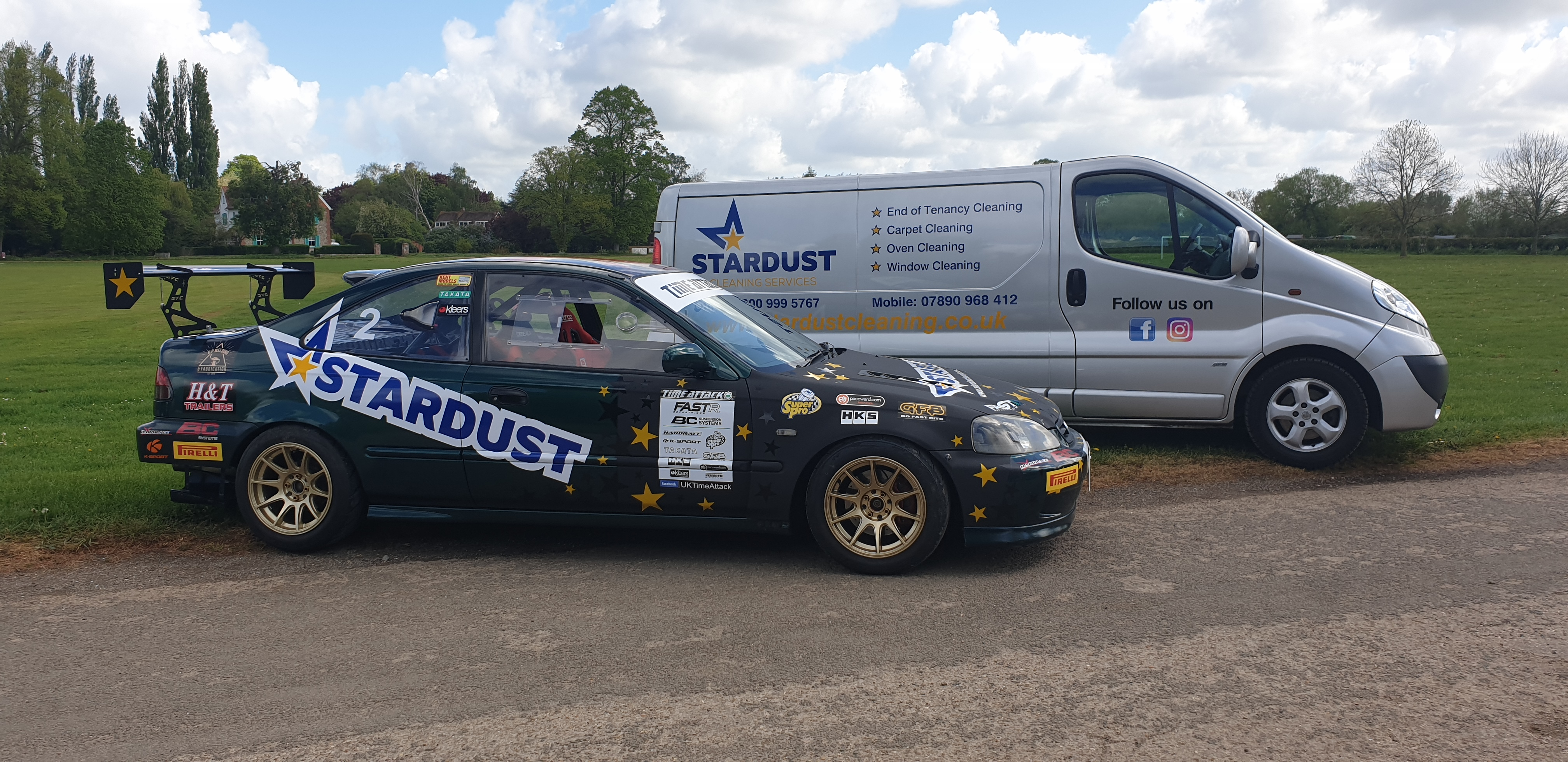 Time Attack sponsored by Stardust Cleaning Services