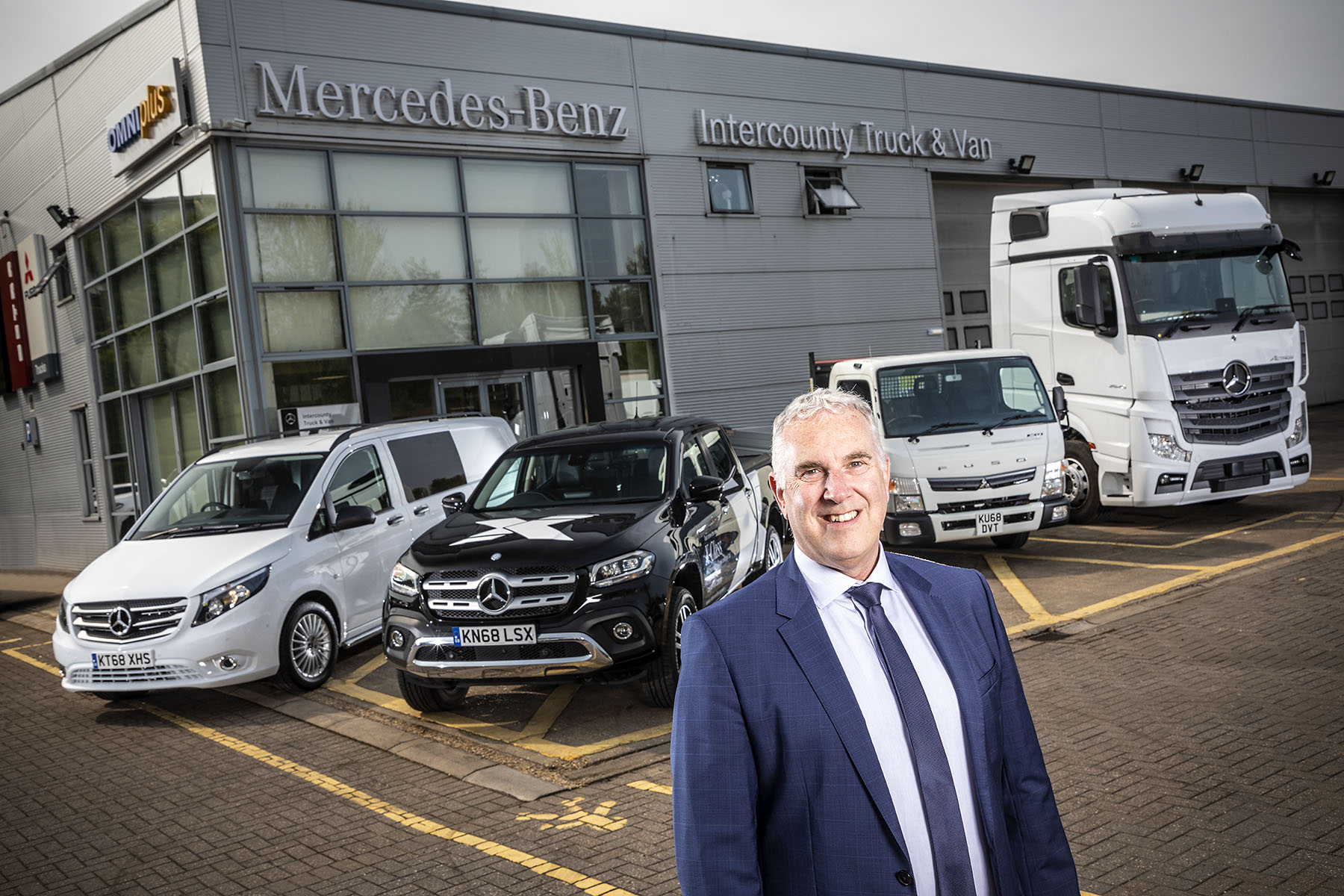 Andrew comes 'full circle' with new role at Mercedes-Benz Dealer Intercounty Truck & Van