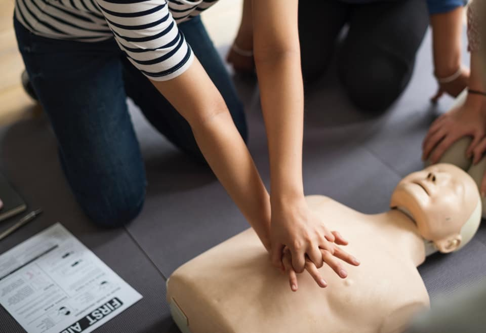 Become first aid qualified and benefit a local charity too!