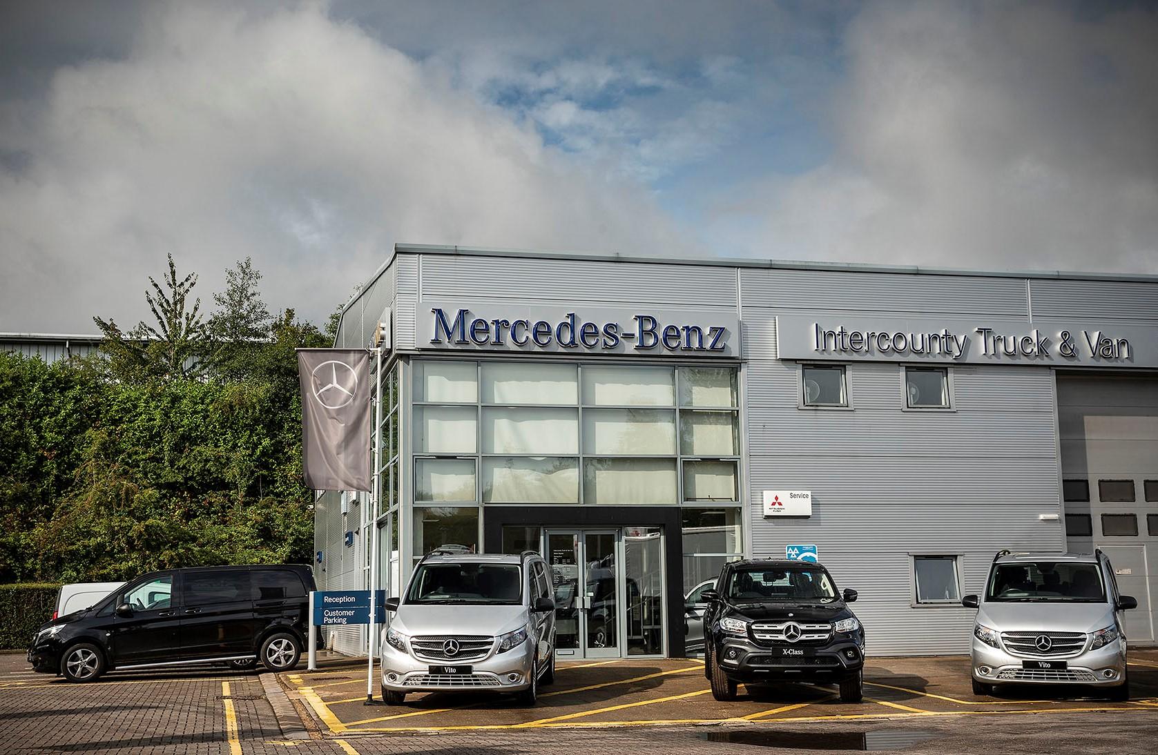 mercedes-benz dealer intercounty opens on saturdays for van sales