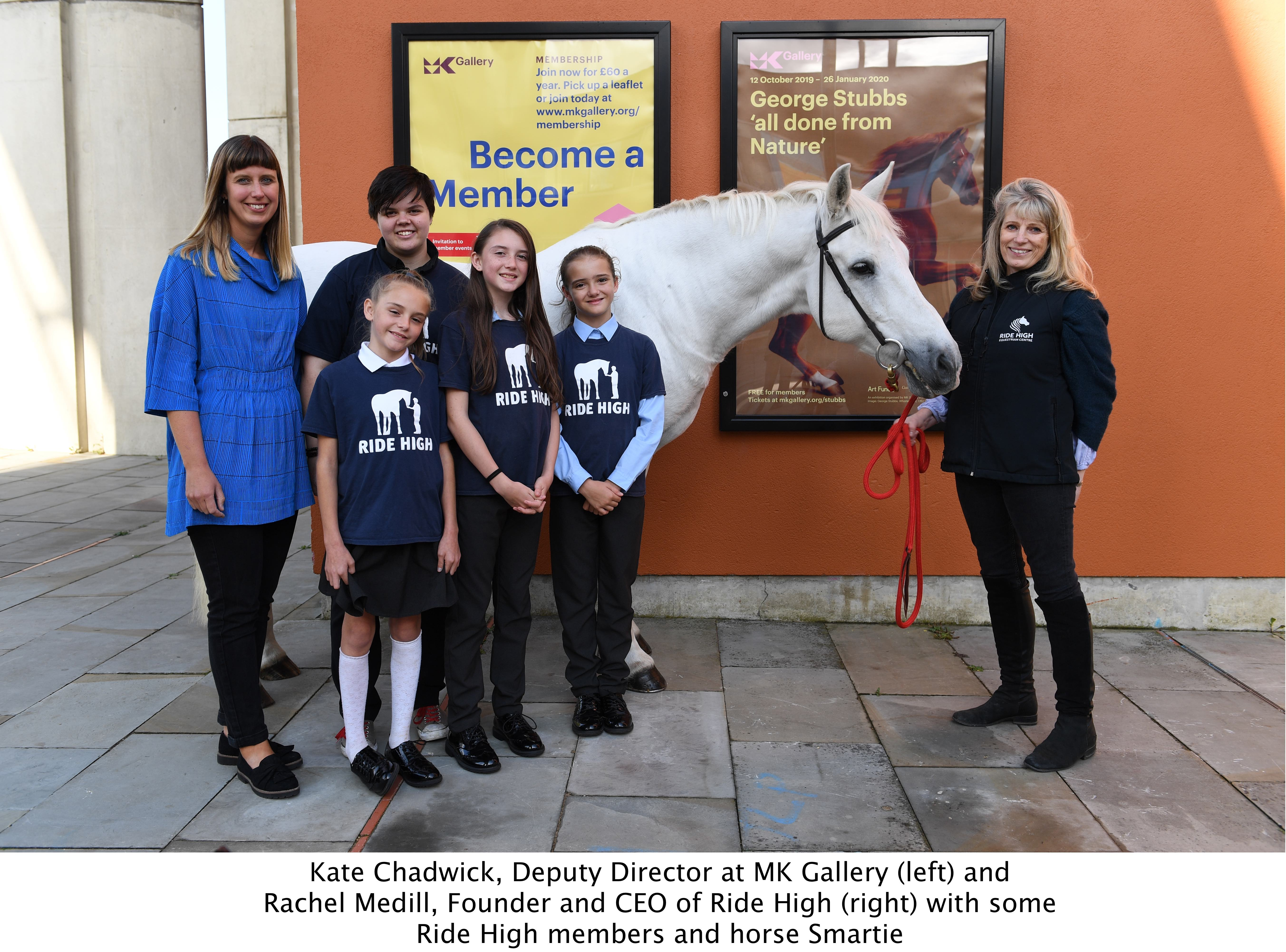 MK Gallery and local children's charity hold George Stubbs inspired exhibition