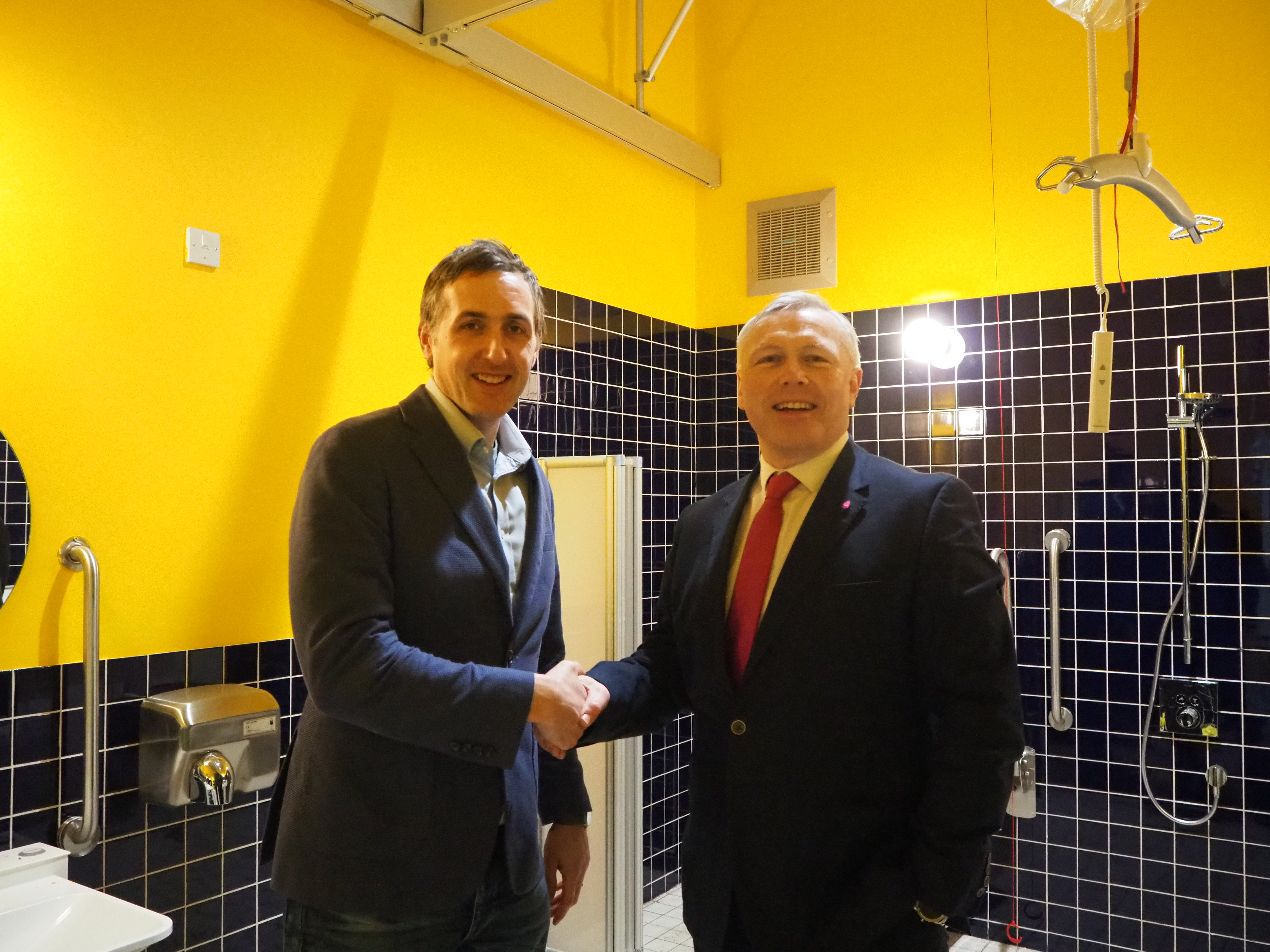 MK Community Foundation funding allows MK Gallery to build a Changing Places Toilet
