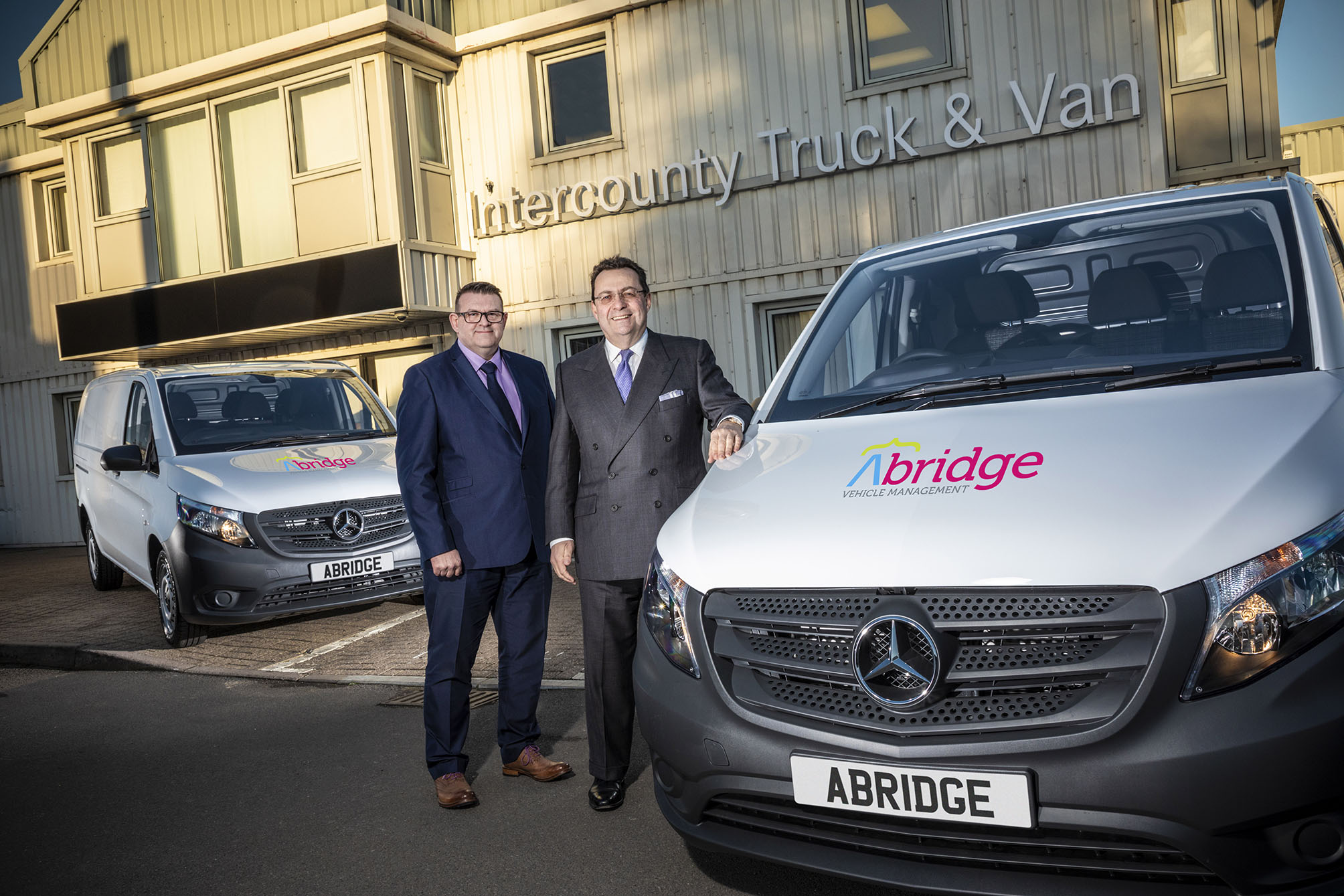 Abridge's Mercedes-Benz Vito courtesy fleet keeps businesses running during accident repairs