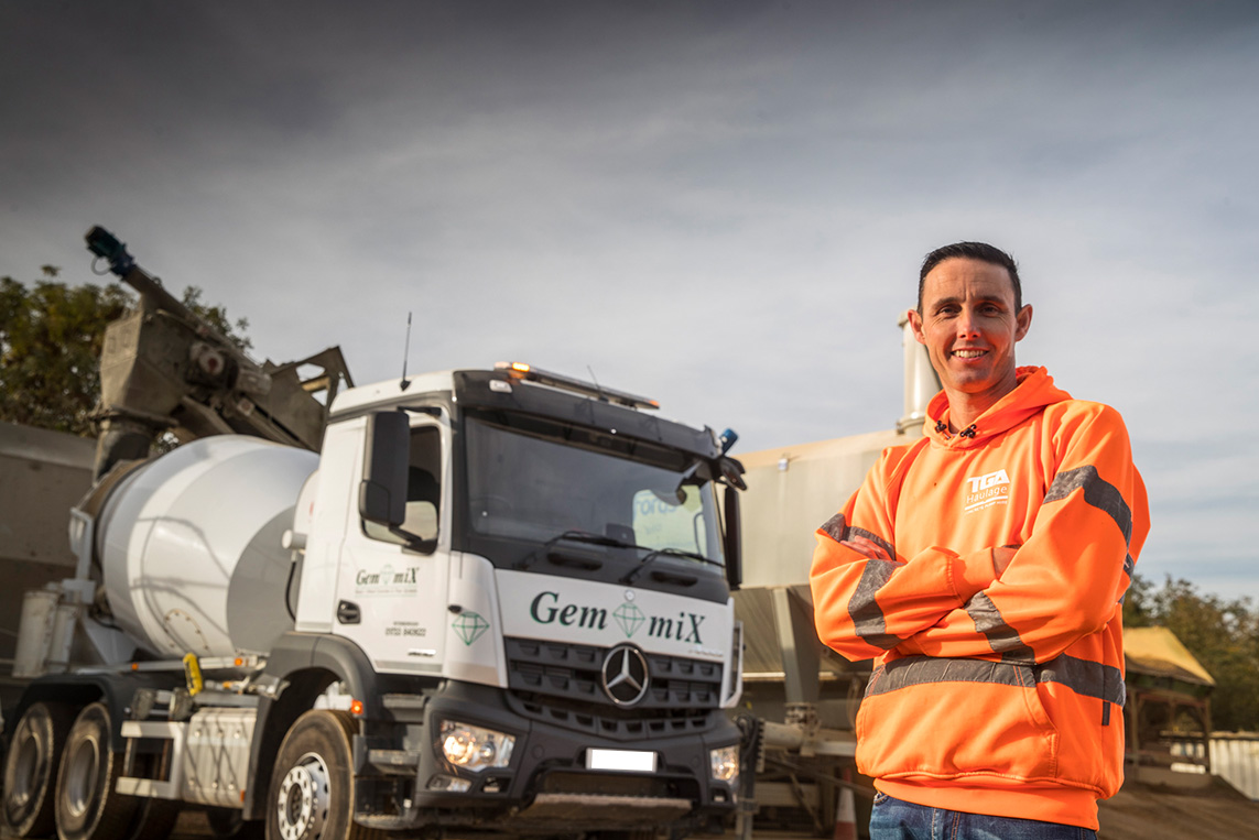 TGA's Tom opts for another tried and trusted Mercedes-Benz Arocs from Intercounty Truck & Van