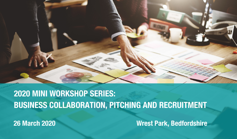 2020 Mini workshop series: business collaboration, pitching and recruitment