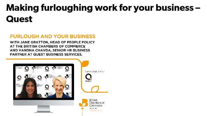 Making furloughing work for your business with Quest & BCC